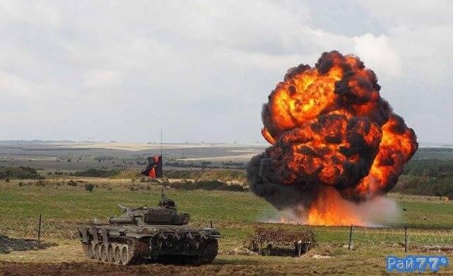 Футуристические учения вооружённых сил состоялись в Британии