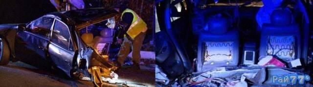 Два американца выжили после столкновения с электричкой