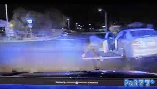 Угонщик угодил под колёса угнанного им автомобиля в США