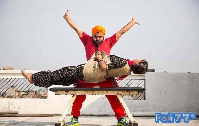 Индийский бородач планирует побить мировой рекорд по поднятию тяжестей