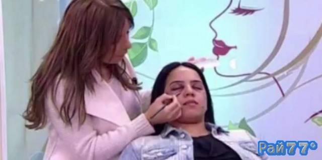 На марокканском телеканале показали, как наносить экстремальный макияж
