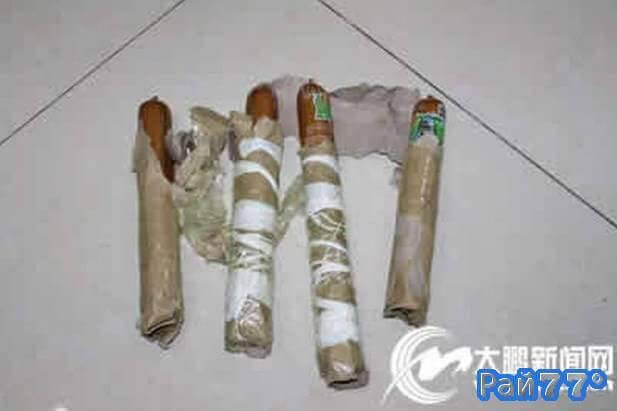 Четыре палки колбасы, при помощи которых китаец шантажировал бывшую подругу