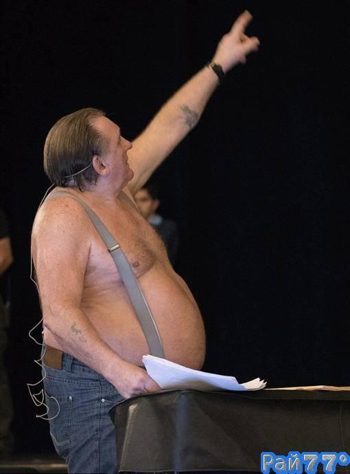Фото жерар депардье голый