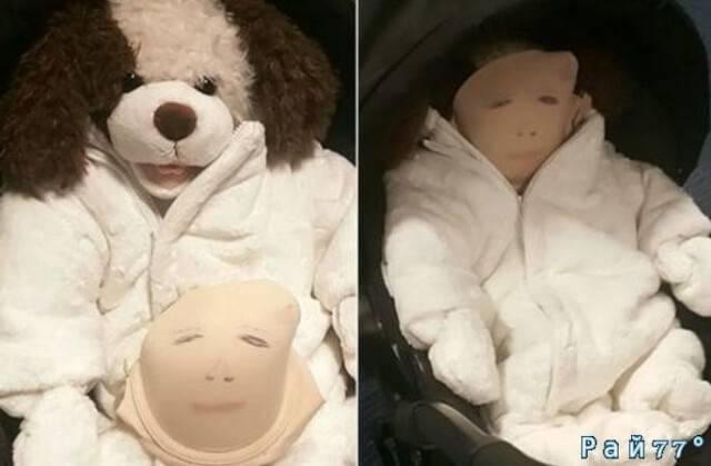 «Предприимчивая» воровка, используя коляску с поддельным ребёнком выносила товар из супермаркета в Британии.