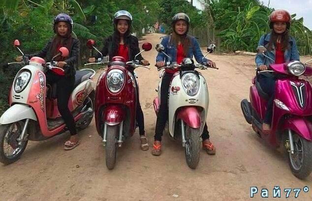 Камбоджийская таксомоторная фирма ввела в заблуждение клиентов двусмысленным лозунгом - «Давйте наслаждаться поездкой!»