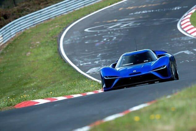 Китайский гиперкар Nio EP9 превзошёл в скорости легендарный Lamborghini Huracan Performante.