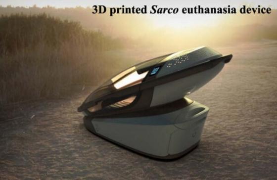 «Доктор смерть» презентовал трехмерную печатную машину для эвтаназии.