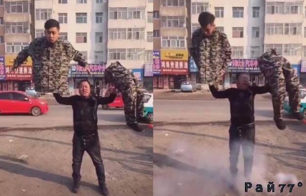 Чудеса военной подготовки показали китайские солдаты. (Видео)