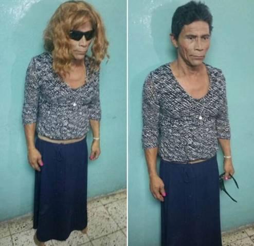 Осуждённый убийца попытался сбежать из тюрьмы в Гондурасе, «замаскировавшись» под бабушку.