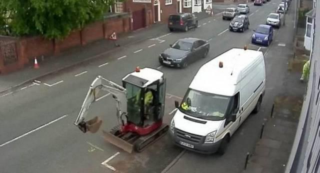 Самый медленный угон был снят на видеокамеру в Британии.