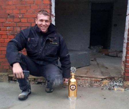 Самую дорогую, коллекционную бутылку водки украли из датского кафе