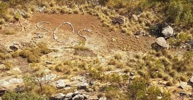 В Австралии разгадали загадку появления таинственной надписи «SOS», выложенной из камней на отдалённой части побережья.