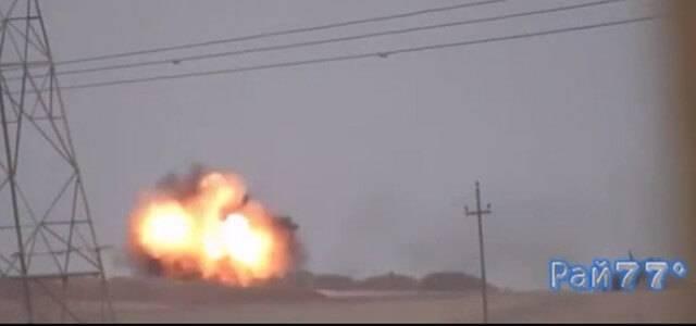 Американский танк был подбит российской ракетой в Ираке
