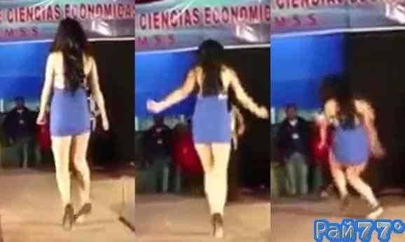 Девушка на длинных каблуках стала звездой интернета в Латинской Америке