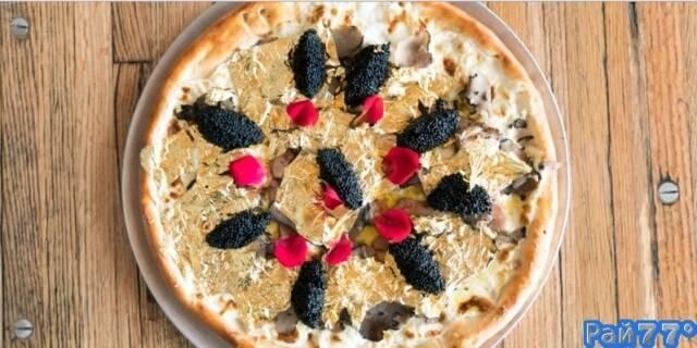 Самую дорогую пиццу, стоимостью 2000$ сделали в США.