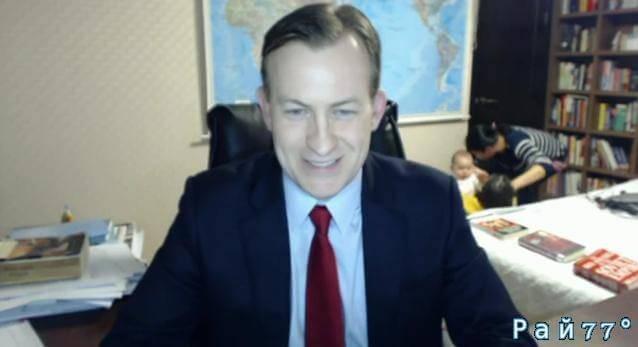 Дети прервали интервью профессора политологии в прямом эфире на канале BBC. (Видео)